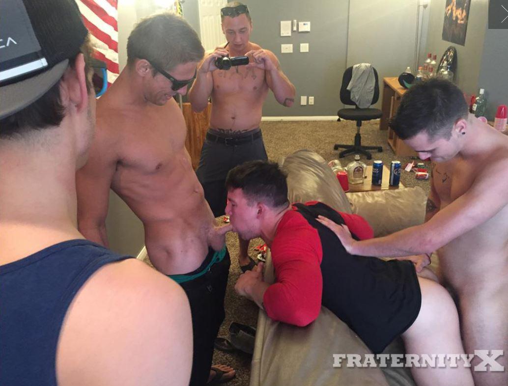 Leaked gay sex tape frat