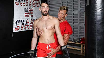 Home from college and left without much to do, Johnny B takes his new step-dad up on his offer to do some training at his gym. As a trainer, Tristan Brazer spends most of his time molding men...