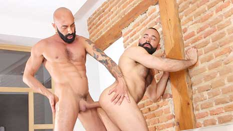 Trends come and go, but Beards have become a form of an indicator for Gay Bears, but beards have also crossed over into the muscle groups of gays, as is put on perfect display by Gianni Maggio and Leonardo Lucatto.