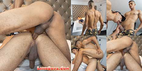 Juliano was serious when he told us he wanted to do hardcore porn and fuck some ass in his 'first' porn video. And Angelo has tried bottoming a couple times since doing his solo shoot...