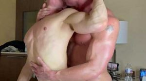 Cade Maddox with another muscle stud, but ends up being the bottom bitch! I like to go somewhere warm when winter arrives. I hate cold weather.