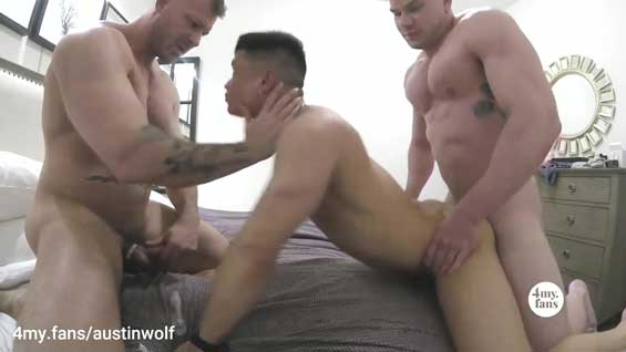 Anon Asian with another muscle stud, but ends up being the bottom bitch! I like to go somewhere warm when winter arrives. I hate cold weather.